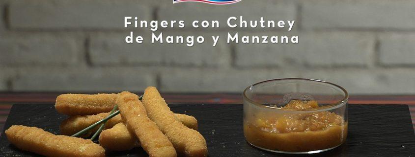 Fingers de Pollo Sin Gluten con Chutney