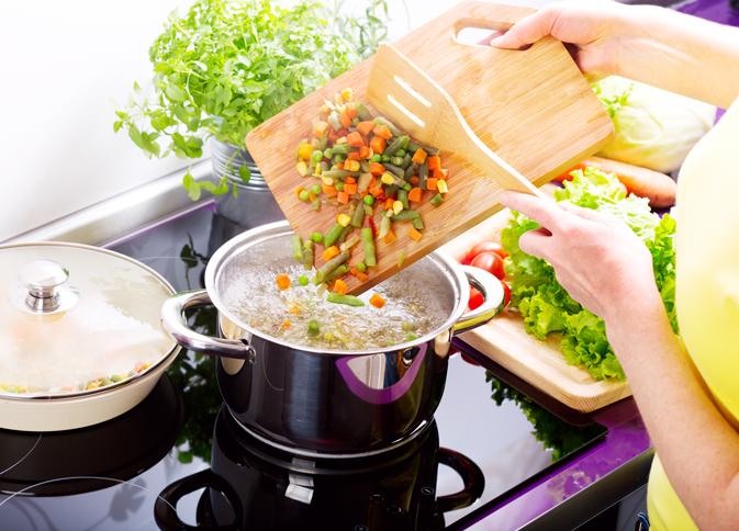 Trucos para conseguir unas verduras hervidas al punto