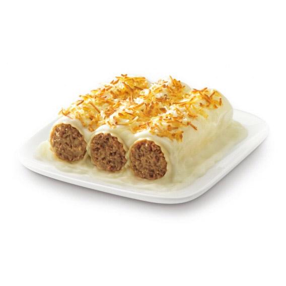 Canelones de carne receta casera 250g maheso - Canelones en microondas ...