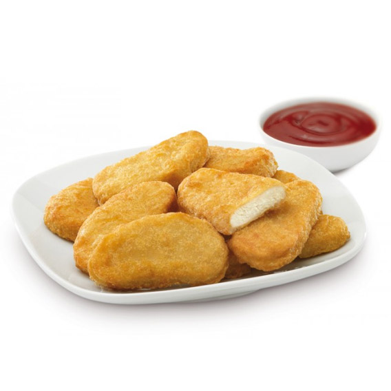 Nuggets de pollo + ketchup, ¡Excelentes! - Maheso