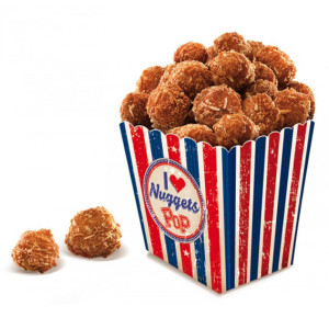 Pop nuggets congelats