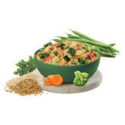 Quinoa con Kale y Lentejas