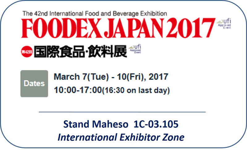 productos congelados Foodex Japan 2017