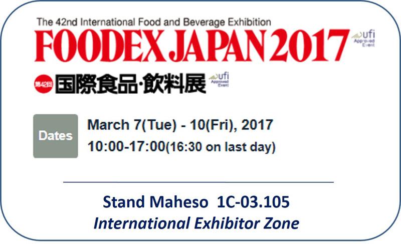 Productes congelats FOODEX JAPAN 2017